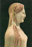 ATHENES-ACROPOLIS MUSEUM-ARCHAIC KORE NO.679 - Sculture