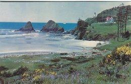 Heceta Head Light House. Oregon Coast  S- 4439 - Lighthouses