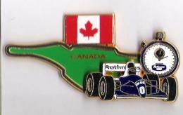PIN'S FORMULE 1 - WILLIAMS RENAULT ELF ROTHMANS - CANADA 94/95 - N° 149/300 - F1