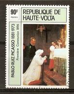 1975 - Pablo Ruiz Picasso (1881-1973) - Première Communion 1896 - N°363 - Haute-Volta (1958-1984)