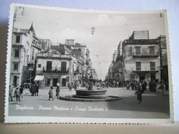 1960 - Palermo - Bagheria - Piazza Madrice E Corso Umberto I - Sali E Tabacchi - Fontana - Animata - Cartolina D'epoca - Bagheria