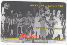 ANTIGUA & BARBUDA(GPT) - 40 Years Of Carnival/Skelly Hoppers 1959, CN : 181CATA, Tirage %25000, Used - Antigua And Barbuda