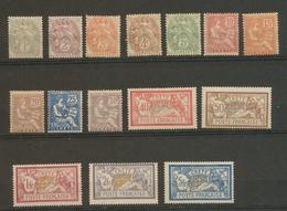 Colonie CRETE N°1 à 15 Neuf * TB. Cote 210€ H2121 - Kreta (1902-1903)