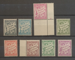 Colonie ALEXANDRIE TAXE N°6 à 13 Neuf Luxe **. TTB H2136 - Alexandrie (1899-1931)