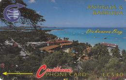 ANTIGUA & BARBUDA(GPT) - Dickenson Bay, CN : 6CATC, Tirage 28000, Used - Antigua And Barbuda