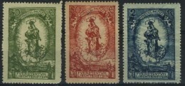 LIECHTENSTEIN   40/42* 80èm Anniversaire Du Prince Jean II - Liechtenstein