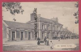 56 - VANNES---La Gare---animé - Vannes
