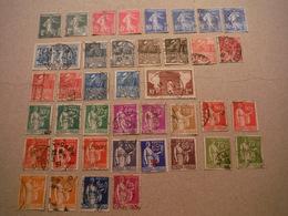 Timbres Des Années 1931 Et 1932 Dont Expo Coloniale - Neufs Et Oblitérés - Used Stamps