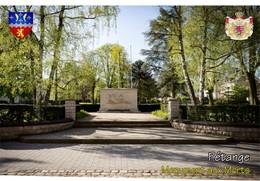 Postcard, REPRODUCTION, Communities Of Luxembourg, Pétange 9 - Cartes Géographiques