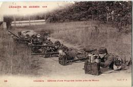 77 - Meaux : Croquis De Guerre - Infanterie - Défense D'une Propriété - Meaux