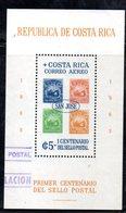 BF57 - COSTARICA 1963 , Yvert BF N. 6  Usato DENTELLATO E NON. - Costa Rica