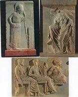 ATHENES MUSEE DE ACROPOLE-ATHENE PENSIVE-NIKE-FRIES DES PARTHENON - Sculture