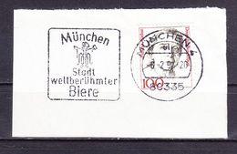 Briefstueck, EF Therese Giehse, MS Muenchen Stadt Weltberuehmter Biere, 1994 (61302) - BRD