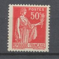 FAUX DE BARCELONE N°283 50c Rose-rouge N** TB H2069 - Errors & Oddities