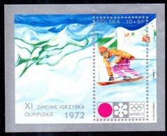 BF75 - POLONIA 1972 , Yvert  BF N. 55   ***  MNH  Sapporo - Blocchi E Foglietti