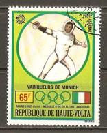 1972 - Médailles D'or J.O. Munich - Ragno-Lonzi - Fleuret - PA N°109 - Haute-Volta (1958-1984)