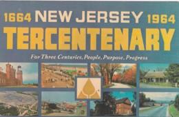 1664- 1964 TERCENTENARY CARD - United States