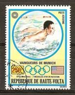 1972 - Médailles D'or J.O. Munich - Spitz - Natation - PA N°123 - Haute-Volta (1958-1984)