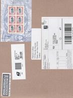 Etats Unis Lettre 2018 1 BF - Lettres & Documents