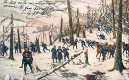 CHASSEURS ALPIN EN FORET - Other Wars