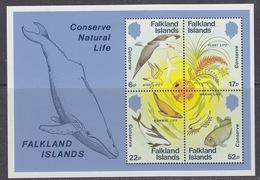Falkland Islands 1984 Nature Conservation M/s ** Mnh (41459B) - Falklandeilanden