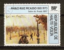 1975 - Pablo Ruiz Picasso (1881-1973) - Salon Du Prado 1897 - PA N°196 - Haute-Volta (1958-1984)