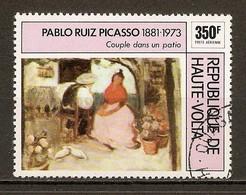 1975 - Pablo Ruiz Picasso (1881-1973) - Couple Dans Un Patio - PA N°197 - Haute-Volta (1958-1984)