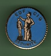 EDF *** CIG SECURITE *** Signe PRUDENCE *** EDF-02 - EDF GDF