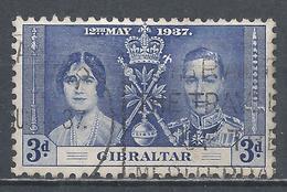 Gibraltar 1937. Scott #106 (U) Coronation Of King George VI * - Gibraltar