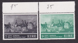 1975 Irlanda ÉIRE Ireland EUROPA CEPT EUROPE Serie Di 2v. MNH** - Europa-CEPT