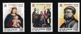 Vatikaan 1993 Nr 966/68 **, Zeer Mooi Lot Krt 4020 - Vatican