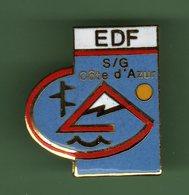 EDF *** S-G COTE D'AZUR *** EDF-02 - EDF GDF