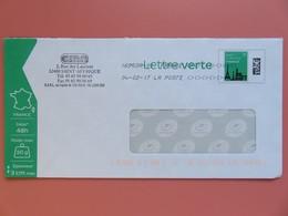 PAP - Entier Postal - Monuments Tour Eiffel - CMA Rue Des Lauriers - St Affrique (12)  - Toshiba 04.02.17 - Entiers Postaux