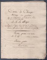 Cahier Ancien. Cours De Chirurgie.Paris Hôpital De La Charité.A.Boyer Baron De L'Empire.Premier Chirurgien De L'empereur - Manuscrits