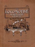 Revue Anglaise Sur Les Chemins De Fer De Londres  48 Pages De 1912 - Sur Les Locomotives De 1832 A 1878. - 1900-1949