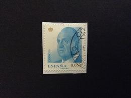 2008 DEFINITIVE KING JUAN CARLOS 0,05 € FRANCOBOLLO USATO STAMP USED - 1931-Oggi: 2. Rep. - ... Juan Carlos I