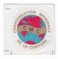 AUTOCOLLANT  -  COIFFURE - Confédération Mondiale De La Coiffure - C.M.C. - - Autocollants