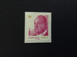 2008 DEFINITIVE KING JUAN CARLOS 0,02 € FRANCOBOLLO USATO STAMP USED - 1931-Oggi: 2. Rep. - ... Juan Carlos I