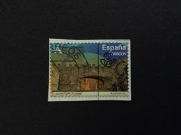 2014 ARCO DE LA ESTRELLA CACERES A FRANCOBOLLO USATO STAMP USED - 1931-Oggi: 2. Rep. - ... Juan Carlos I