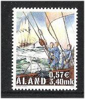 """Aland Åland 2000 Mariehamn Als Etappenziel Der Großseglerregatta """"Cutty Sark Tall Ships' Races""""  Mi 177, MNH(**) - Aland"""