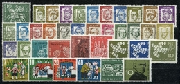 Bund Jahrgang 1961 Postfrisch MNH Jede MiNr 1x - BRD