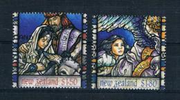 Neuseeland 1996 Weihnachten Mi.Nr. 1553/54 Gestempelt - Neuseeland