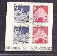 Briefstueck, MiF Bauwerke, OT Muenchen 303, 1967 (61312) - BRD