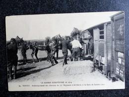 NANTES Embarquement Des Chevaux Du 54e Régiment D'Artillerie à La Gare De SAINTE LUCE La Guerre Européenne De 1914 - Otros Municipios