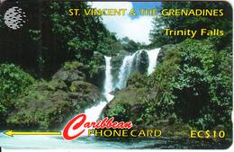 ST. VINCENT & THE GRENADINES(GPT) - Trinity Falls, CN : 13CSVA Tirage 9500, Used - St. Vincent & The Grenadines