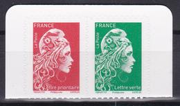 FRANCE 2018 Marianne L'engagée Provenant Carnet Adhesive MNH** Luxe - 2018-... Marianne L'Engagée