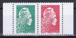 FRANCE 2018 Marianne L'engagée Provenant Carnet Gomme MNH** Luxe - 2018-... Marianne L'Engagée
