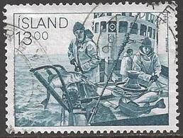 1983 13k Fisherman, Used - 1944-... Republik
