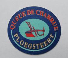 Sous Bock Queue De Charrue Ploegsteert - Sous-bocks