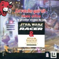CD La Vache Qui Rit Vous Offre Le Premier Niveau Du Jeu STAR WARS - Episode 1 RACER - PC-Games